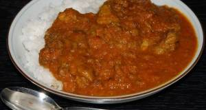 Authentic Indian-Style Beef Curry