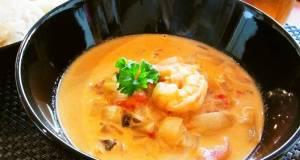 Addictive Tomato Cream Stew with Shrimp
