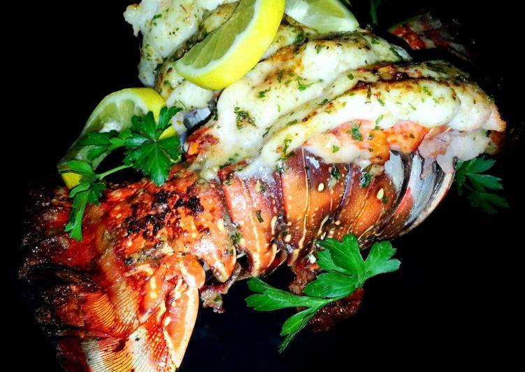 Mike's EZ Broiled Lobster Tails