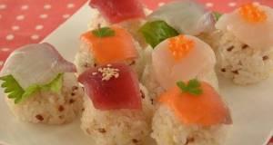 Fishmonger-Style Sushi Balls