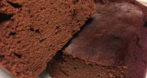 Low-Sugar Moist Okara Cocoa Cake