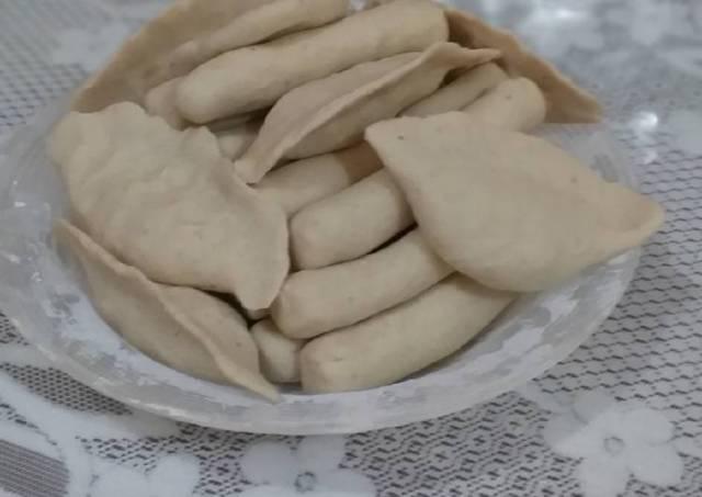 Pempek udang rebon