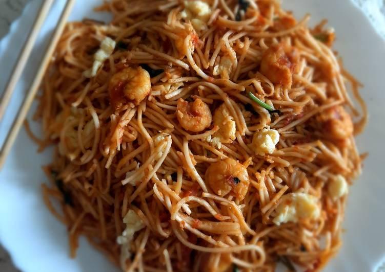 Spicy Shrimps Noodles