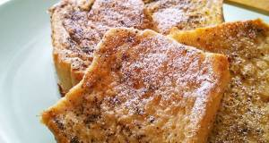 Tea Flavored French Toast