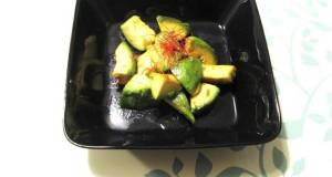 Grilled Avocado with Yuzu Pepper Paste