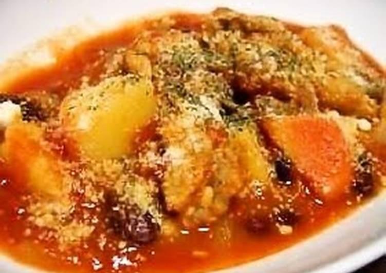 Chicken Wing Tomato Stew