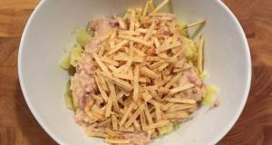 Potatoes With Chicken  Bacon Cream