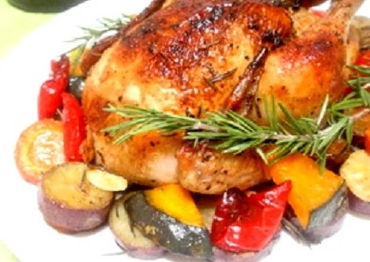 Authentic Roast Chicken