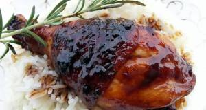 LG CHICKEN WITH HONEY BEER SAUCE  ASIAN STYLE COOKING