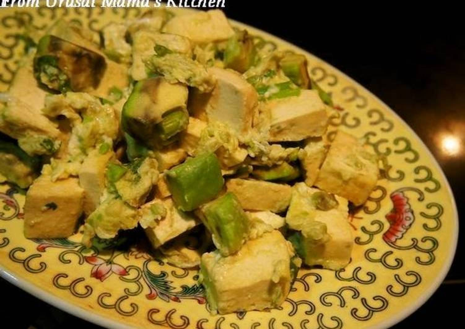 Avocado & Firm Tofu with Egg