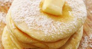 Rice Flour Pancakes for Babies with No Baking Powder