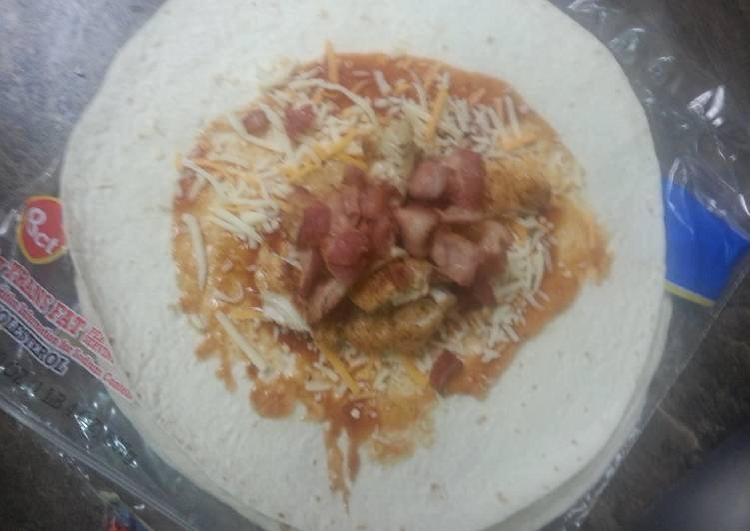 Barbecue bacon ranch chicken quesadillas