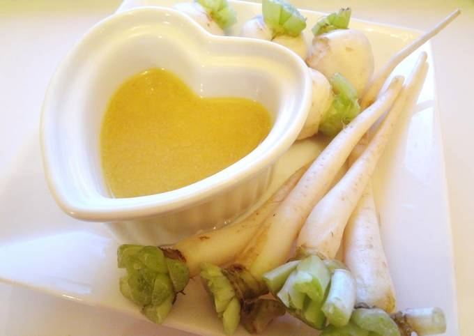 Vegan Bagna Cauda without Anchovy