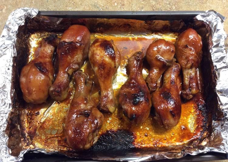 How to Make Speedy Baked Honey Glazed Chịcken Drumsticks