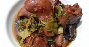 Mustard Green And Ham Hock Stew