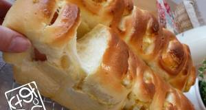 Fluffy and Chewy Okazu Pan Bread with Savoury Filling