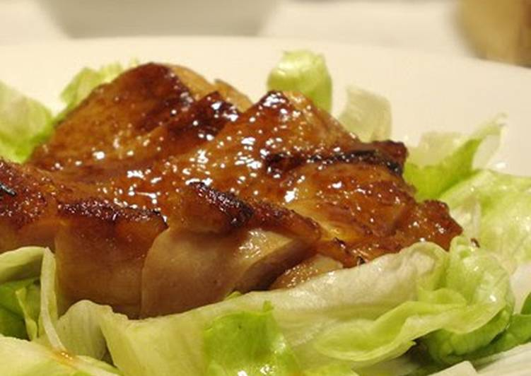 Our Familys Golden Ratio Chicken Teriyaki