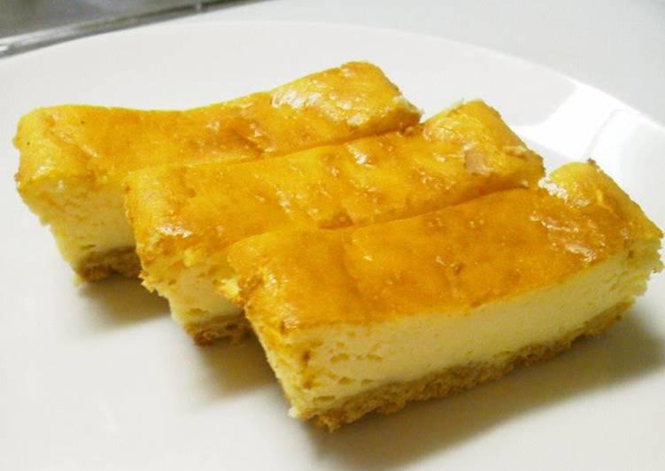 Easy Light Baked Cheesecake