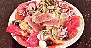 Grilled Romaine Antipasto Salad