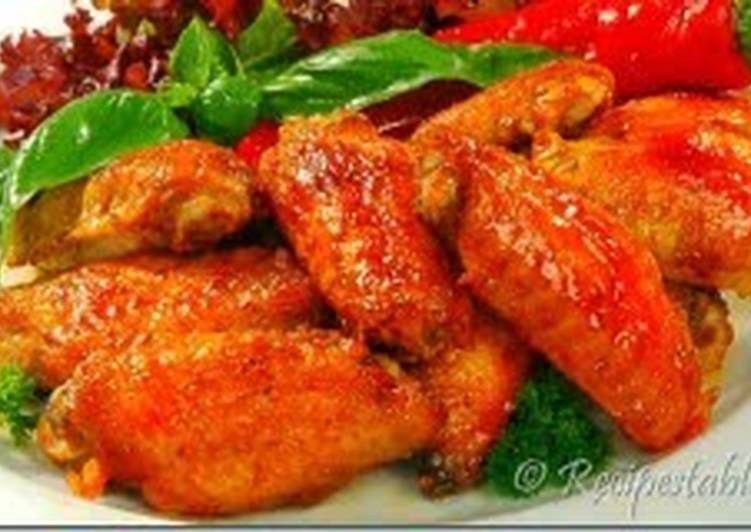 Low fat chicken wings