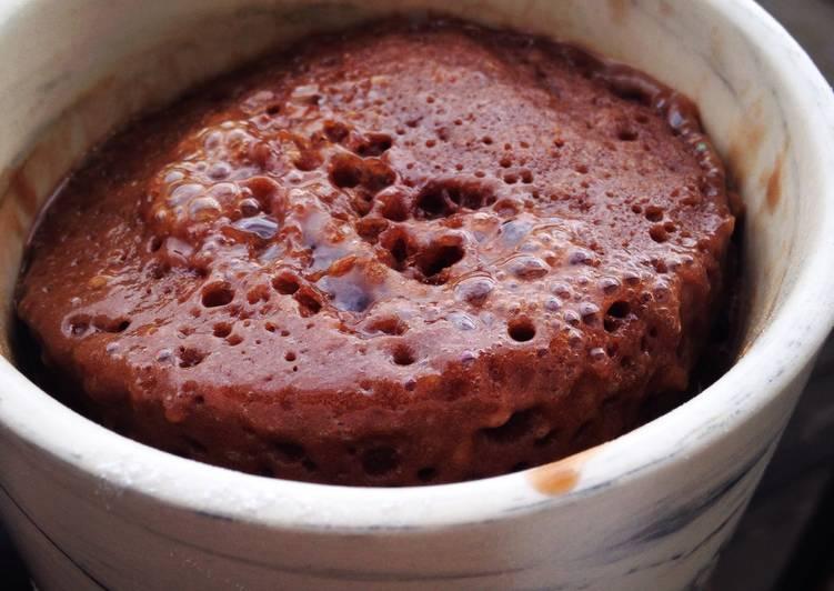 Chocolate Nutella Mug cake Deliciousness