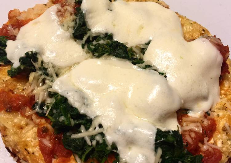 Garlic and Cauliflower Pizza Crust