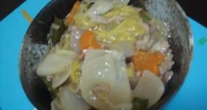 Simple and Refreshing Vinegar Happosai Stir-Fry