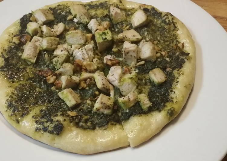 Izs Chicken Pesto Pizza