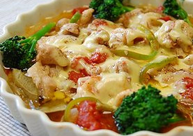 Provence-Style Chicken (Microwave for 10 minutes)