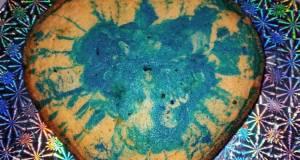 Simple Blue velvet cake
