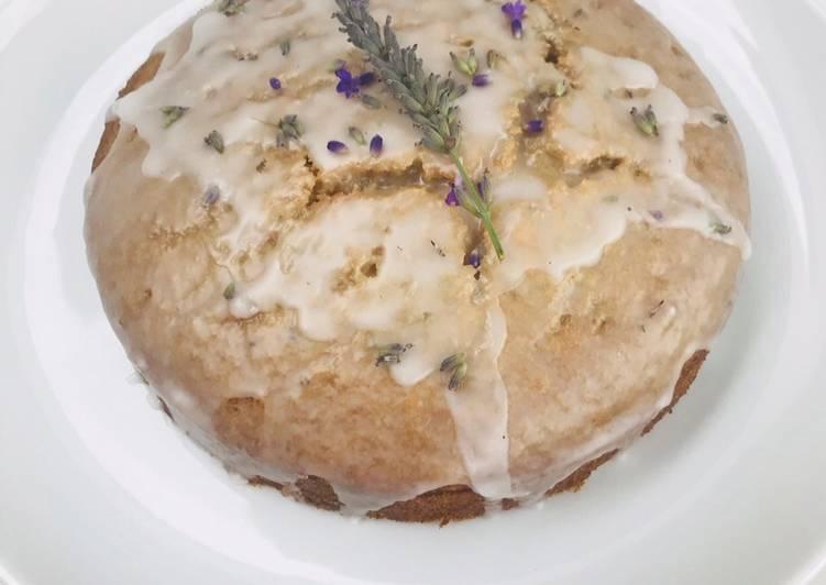 Vegan Lavender Cake