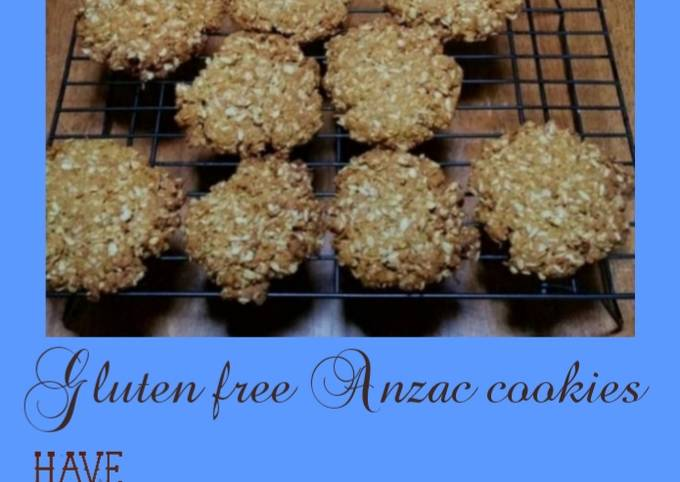 Step-by-Step Guide to Prepare Gordon Ramsay Gluten free Anzac cookies