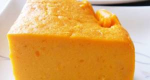 Kabocha Squash Cream Cheesecake