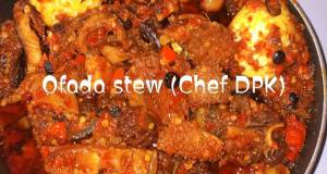 Ofada rice stew