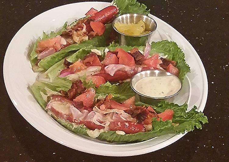 HotDog Lettuce Wraps
