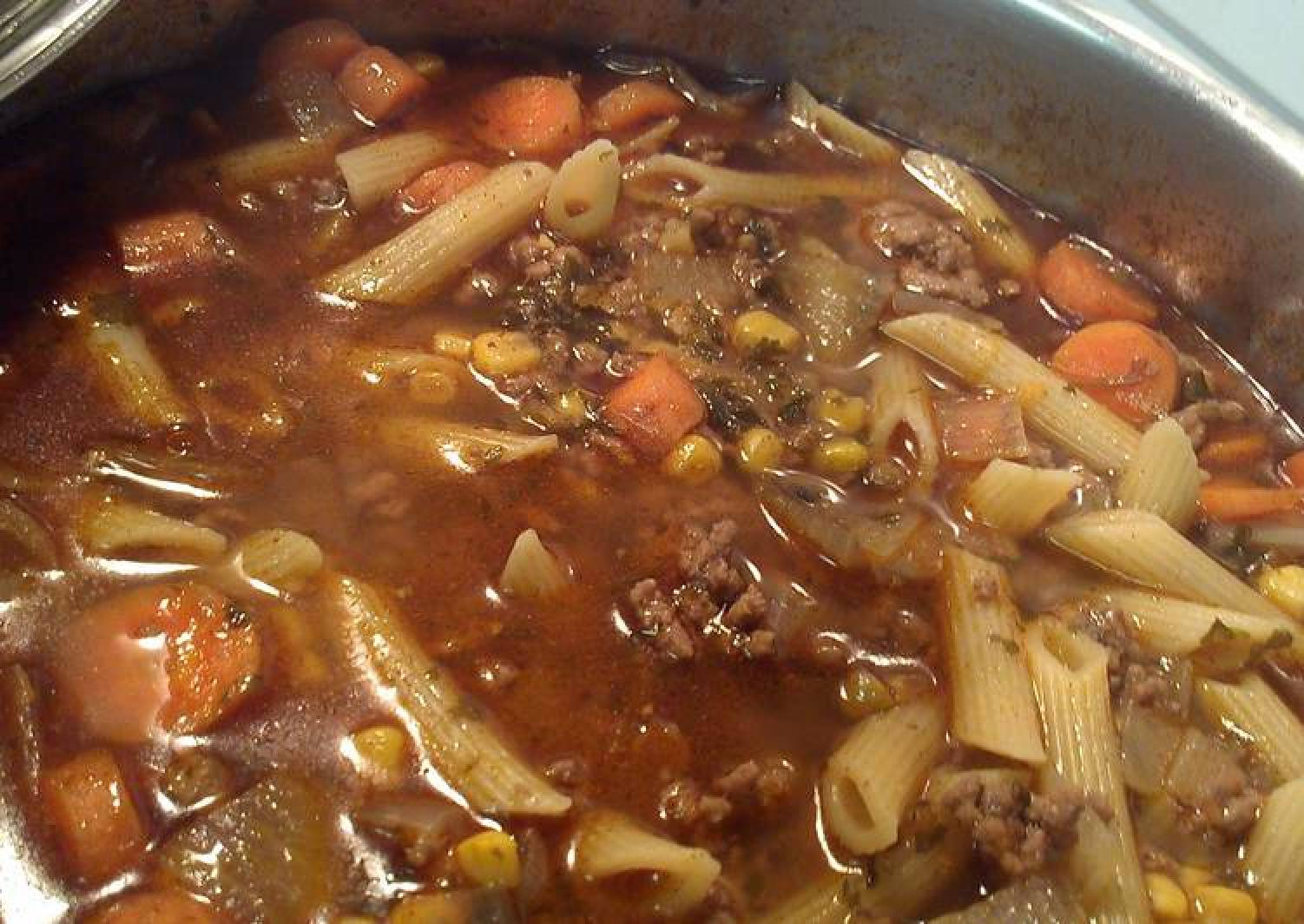 Hamburger soup