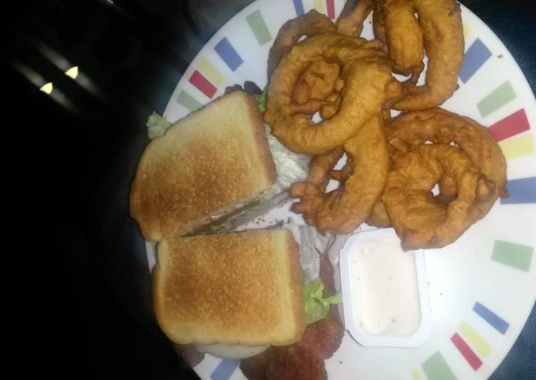 Pyro's Bar & Grill club sandwich