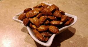 Rosemary and sea salt toasted almonds