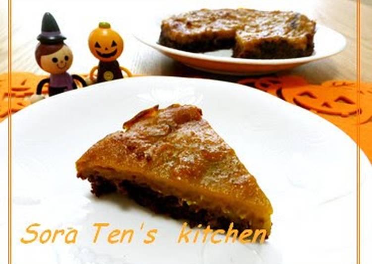 Macrobiotic Kabocha and Chocolate Tart