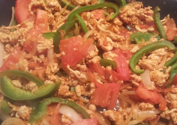 Recipe of Perfect Healthy Turkey Taco/Burrito filling