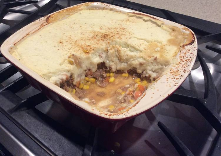 Healthy-ish American Shepherds Pie