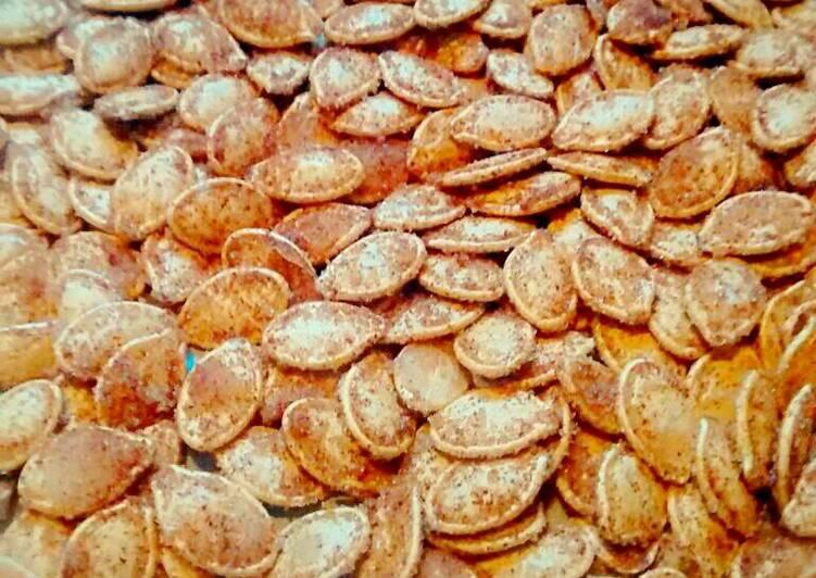 Sweet n' Spicy Pumpkin Seeds