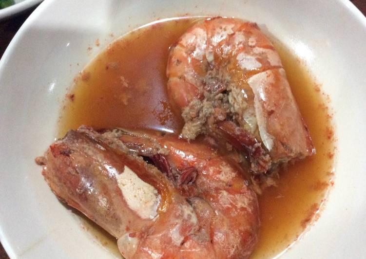 Sweet & Salty Steamed Shrimps