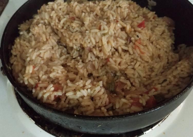 Shrimp flavored rice