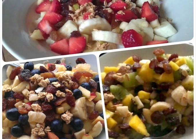 "Low carb healthy fruit ""porridge"" - no oats"