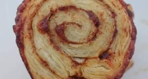 Honey and Cinnamon Roll Puff Pastry Pinwheels