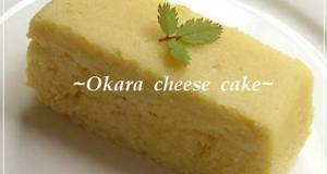 Okara Cheesecake in the Microwave