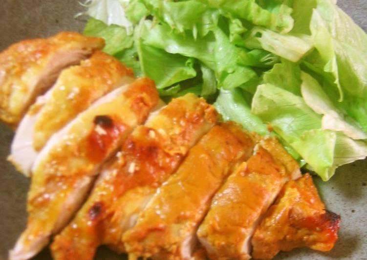 Simple Moist and Tender Tandoori Chicken