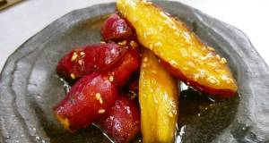 Candied Sweet Potatoes in Minutes