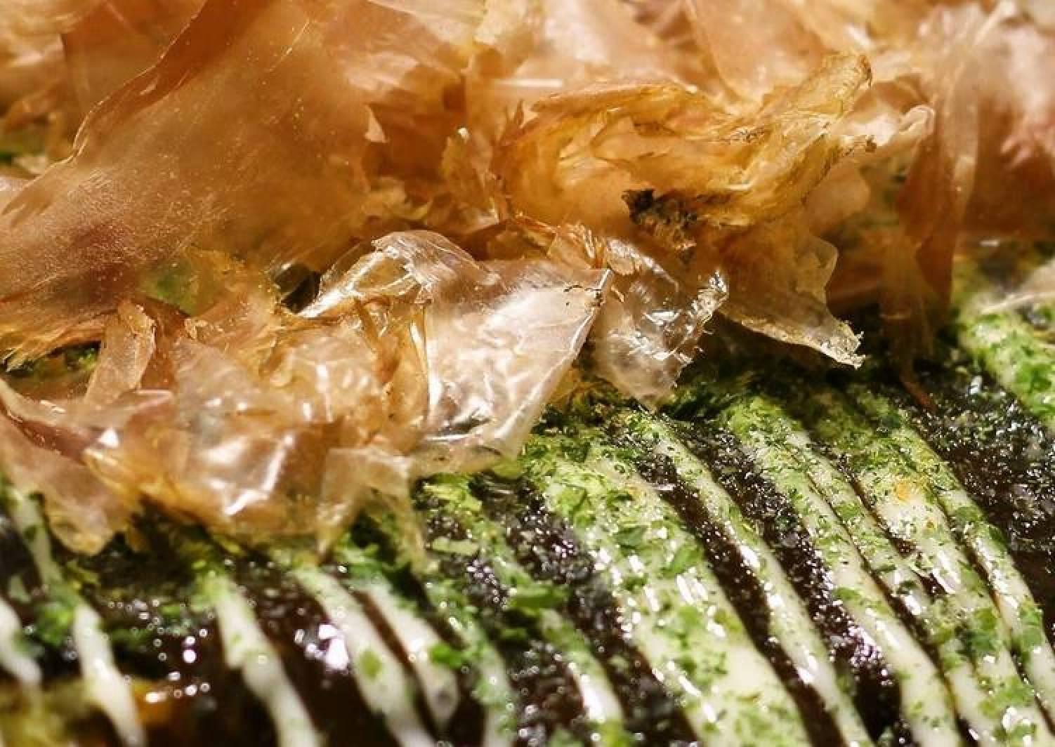 Seafood Delight! Okonomiyaki with Yamaimo